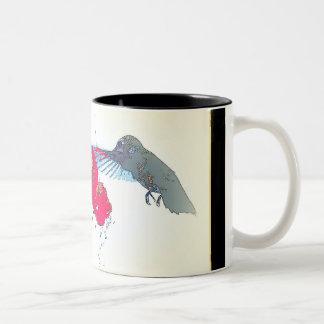 Hummingbird Flowers Mug