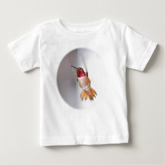 Hummingbird Flying Photo Baby T-Shirt