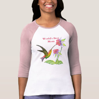 Hummingbird Garden for Mom Tee Shirt