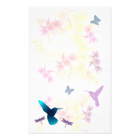 Hummingbird Garden Stationery