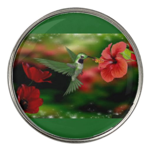 Hummingbird Golf Ball Marker