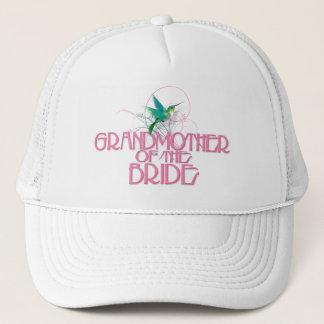 Hummingbird Grandmother of the Bride Trucker Hat