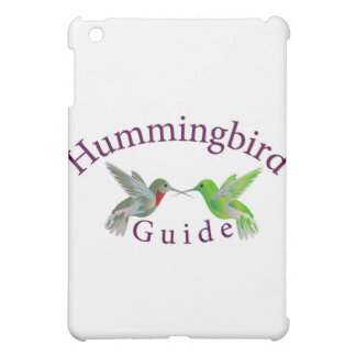 hummingbird guide final iPad mini cover