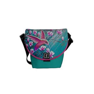 Hummingbird Handbag Messenger Bag