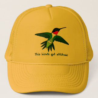 Hummingbird Hat- Got Attitude Trucker Hat