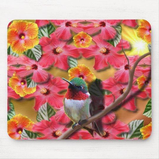Hummingbird Haven Mouse Pad