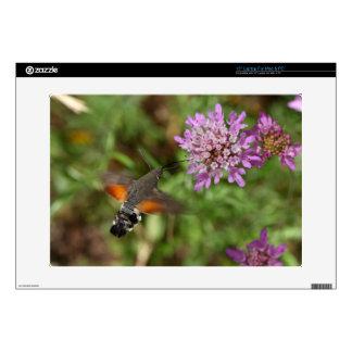 Hummingbird hawk-moth (Macroglossum stellatarum) Laptop Decals