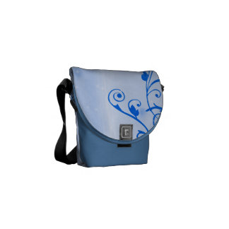 Hummingbird Hearts 2 Courier Bag