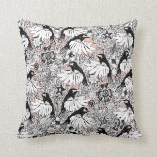 hummingbird heaven cameo throw pillow