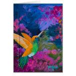 Hummingbird Hummers Paradise Greeting Cards