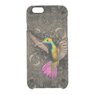 Hummingbird in Flight Clear iPhone 6/6S Case