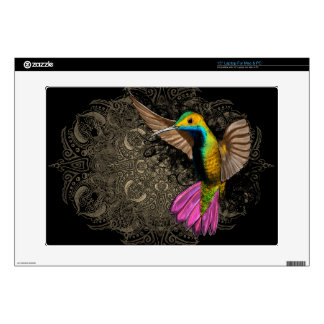 Hummingbird in Flight Decal For Laptop