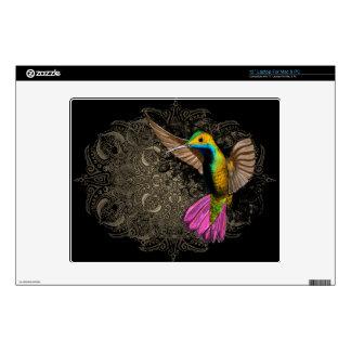 """Hummingbird in Flight Decals For 12"""" Laptops"""