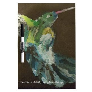 """""""Hummingbird in flight"""" Dry-Erase Board"""