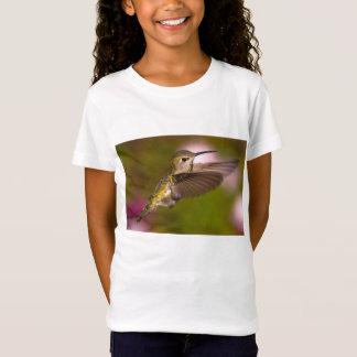 Hummingbird in Flight Female Anna's Hummingbird T-Shirt