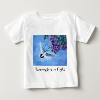 Hummingbird In Flight Infant Tshirt
