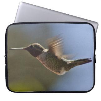 Hummingbird in Flight Laptop Sleeves