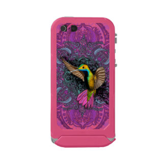 Hummingbird in Flight Waterproof iPhone SE/5/5s Case