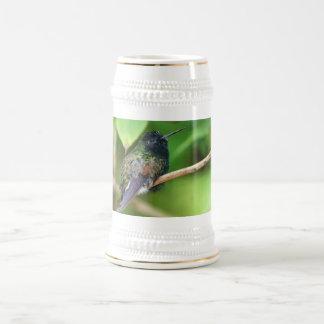 Hummingbird in Jungle Photo Beer Stein