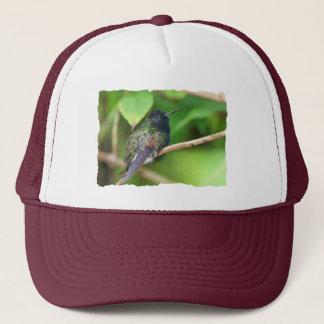 Hummingbird in Jungle Photo Trucker Hat