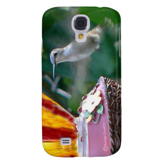 Hummingbird in Motion Galaxy S4 Case