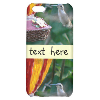 Hummingbird in Motion Cover For iPhone 5C