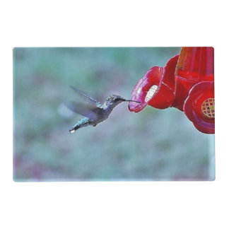Hummingbird in motion Placemat