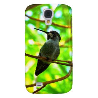 Hummingbird in profile galaxy s4 covers