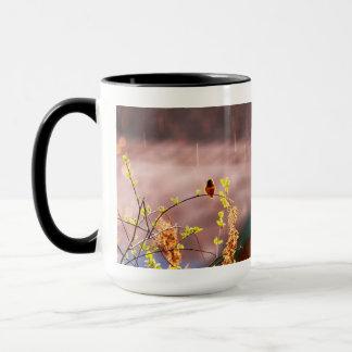 Hummingbird in Rain Shower Mug