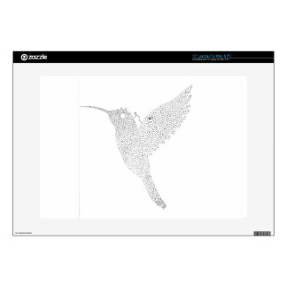 Hummingbird Jamming Out Decals For Laptops