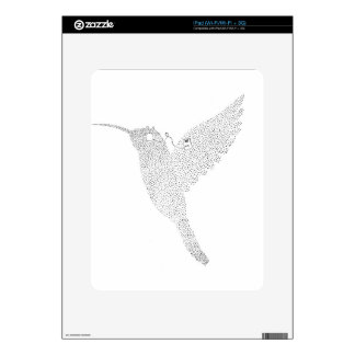 Hummingbird Jamming Out Skins For iPad