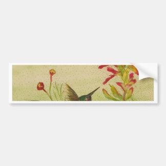 hummingbird.jpg bumper sticker