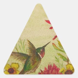 hummingbird.jpg pegatina triangular