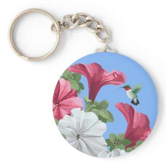 Hummingbird Keychains keychain