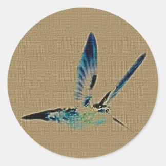Hummingbird King Sticker Sheet