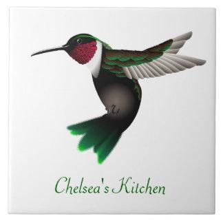 Hummingbird kitchen tile