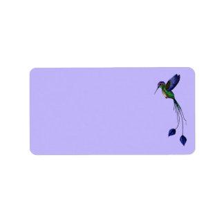 Hummingbird Label