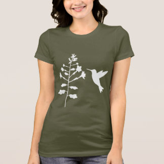 Hummingbird Ladies Shirt- Army T-Shirt