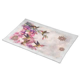 Hummingbird Lavender Jeweled DECOR Placemat
