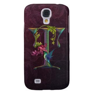 Hummingbird Momogram T Samsung Galaxy S4 Case