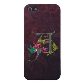 Hummingbird Monogram A Cover For iPhone SE/5/5s