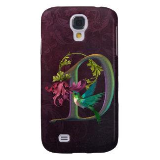 Hummingbird Monogram D Galaxy S4 Cover
