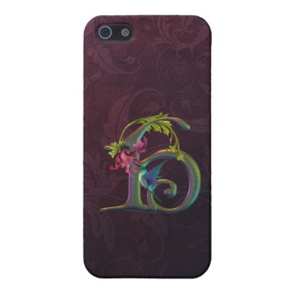 Hummingbird Monogram H Cover For iPhone SE/5/5s