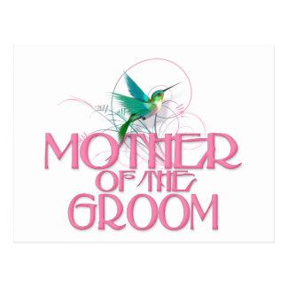 Hummingbird Mother of the Groom Postcard