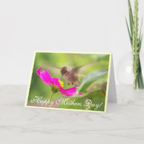 Hummingbird Mothers' Day Card
