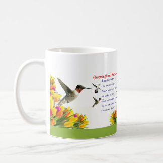 Hummingbird Nectar Recipe Coffee Mug