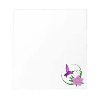 'Hummingbird' notepad