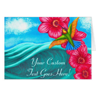 Hummingbird Ocean Cards