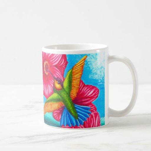 Hummingbird Ocean Mugs
