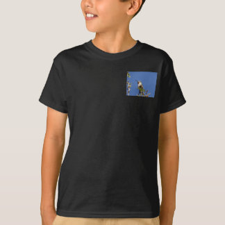 Hummingbird on Branch by SnapDaddy T-Shirt